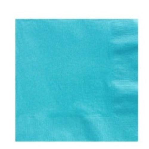 Turquoise servetten