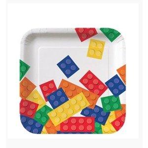 Lego gebaksbordjes