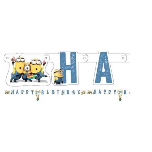Minions happy birthday slinger