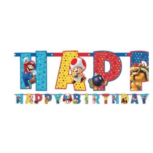 Super mario happy birthday slinger