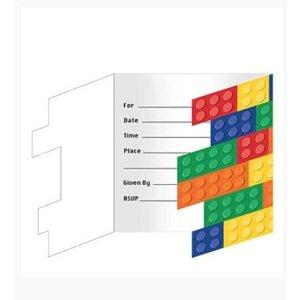 Lego uitnodigingen