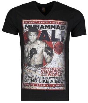 Mascherano T-shirt - Muhammad Ali - Black