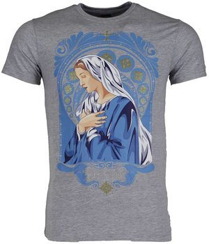 Mascherano T-shirt - Holy Mary - Grey