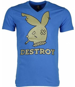 Mascherano T-shirt - Destroy - Blue