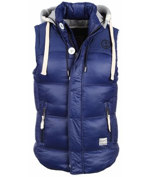 Yole Bodywarmer - Basic Hooded - Blue