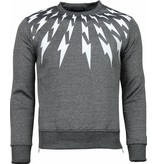 Belman Thunder - Sweater - Donker Grey