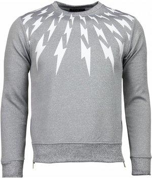 Belman Thunder - Sweater - Light Grey