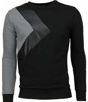 Enos Triangle Style - Sweater - Black