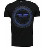 Local Fanatic Golden Boy Mayweather - Rhinestone T-shirt - Black
