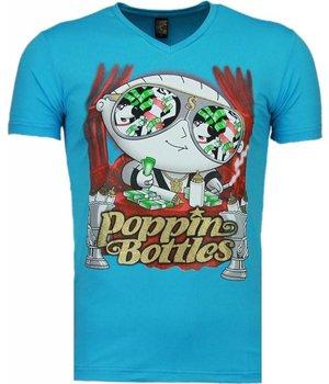 Mascherano Poppin Stewie - T-shirt - Blue