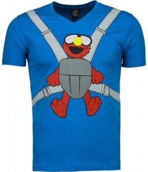 Mascherano Baby Bear - T-shirt - Blue
