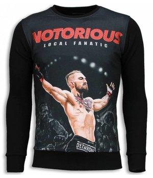 Local Fanatic Notorious McGregor - Sweater - Black