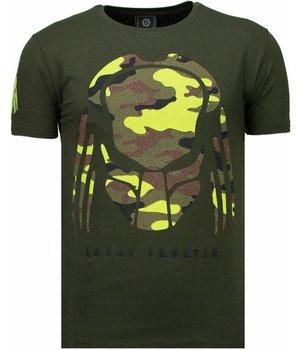 Local Fanatic Predator - Rhinestone T-shirt - Green