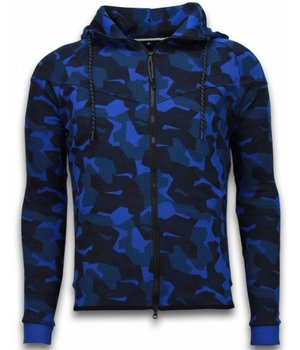 CABAN Exclusive Tracksuit - Windrunner Camouflage - Blue