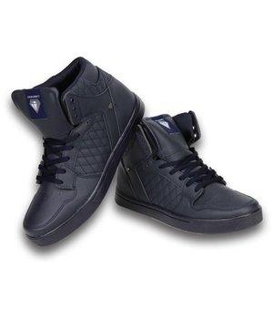 Cash Money Men Shoes -  Sneaker High - Blue