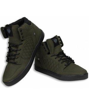 Cash Money Men Shoes -  Sneaker High - Jailor Khaki