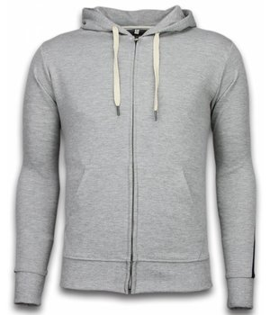 Bread & Buttons Tracksuit - Basic Tracksuit Side Lines - Grey