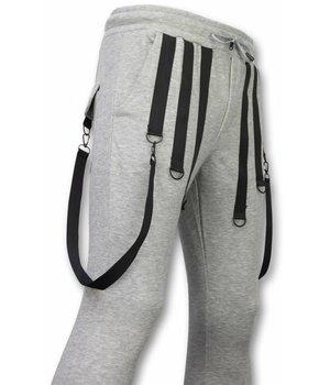 Daniele Volpe Casual Sweatpants - Basic Braces - Grey