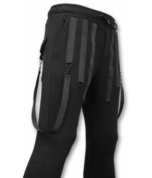 Daniele Volpe Casual Sweatpants - Basic Braces - Black