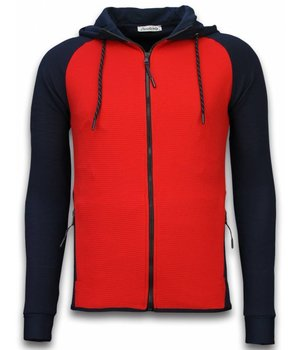 Daniele Volpe Exclusive Tracksuit Windrunner Basic - Blue / Red