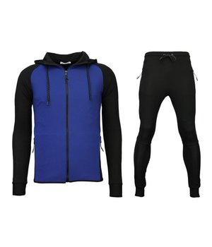 Daniele Volpe Exclusive Tracksuit Windrunner Basic - Black / Blue