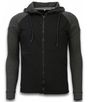 Style Italy Exclusive Tracksuit Windrunner Basic - Grey / Black