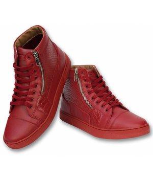 Sixth June Men Shoes Sneaker - High Heel Devil - A16 - Red