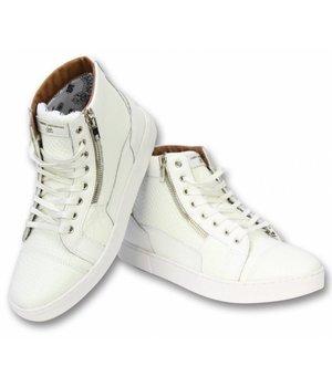 Sixth June Men Shoes Sneaker - High Heel Devil - A14 - White