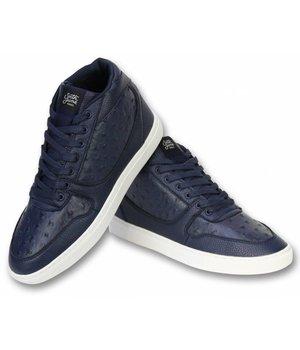Sixth June Men Shoes High Sneaker - Nation Peak - A123 - Navy