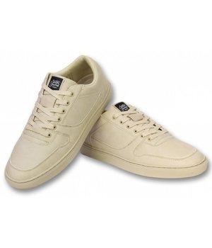 Sixth June Men Shoes Low Sneaker - Seed Essential - 153 - Beige