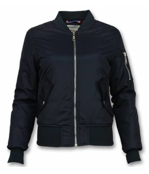 Matogla Bomber Jacket Ladies - Short Jacket Women - Navy