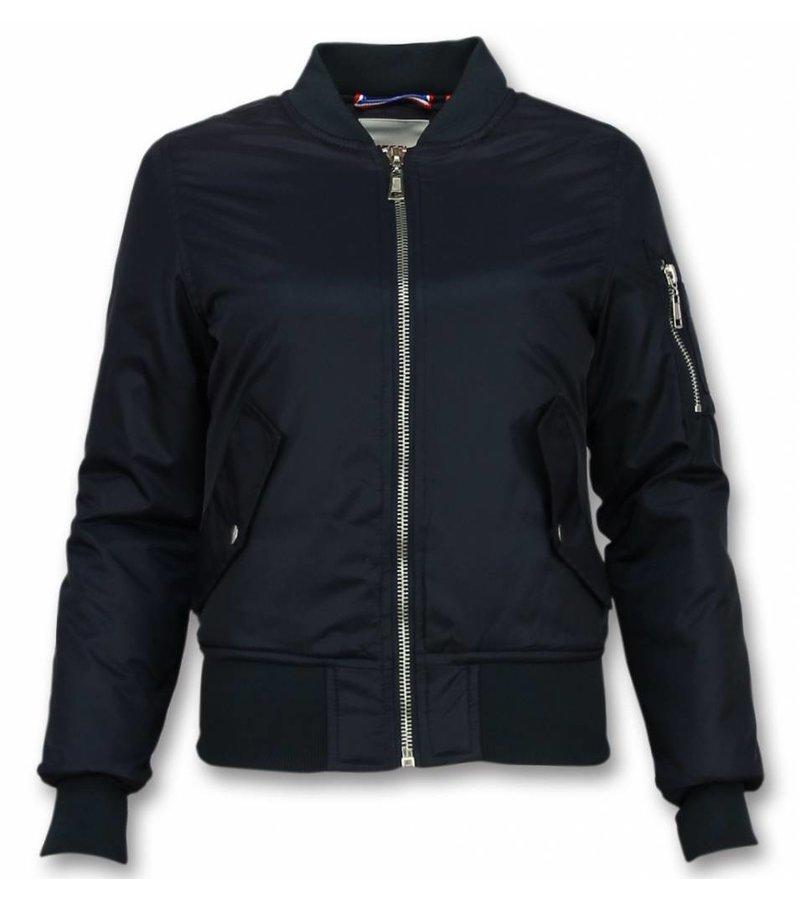 Matogla Bomber Jacket Ladies - Short Jacket Women - Navy