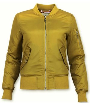 Matogla Bomber Jacket Ladies - Short Jacket  - Yellow