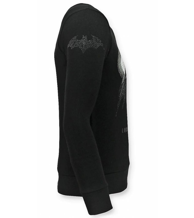 Local Fanatic Batman printed Sweatshirt Men - Black
