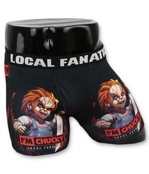 Local Fanatic Men Boxer Shorts Buy - Underwear Men Chucky - Black