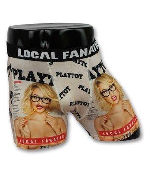 Local Fanatic Men's Boxers Buy - Men's Underwear Playtoy - Black