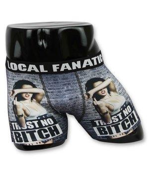 Local Fanatic Trust No Bitch Printed Men Underwear