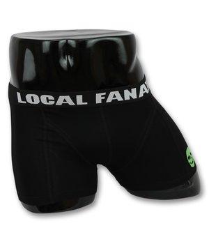 Local Fanatic Skull Printed Men Underwear - Black