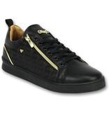 Cash Money Men Shoes Low Sneaker - Maya Full Black - CMS97 - Black