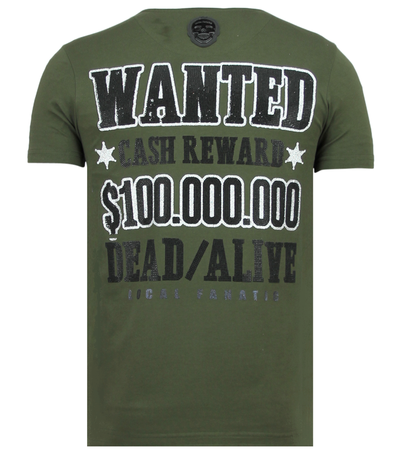 Local Fanatic Beagle Boys Funny T Shirt Men - Green