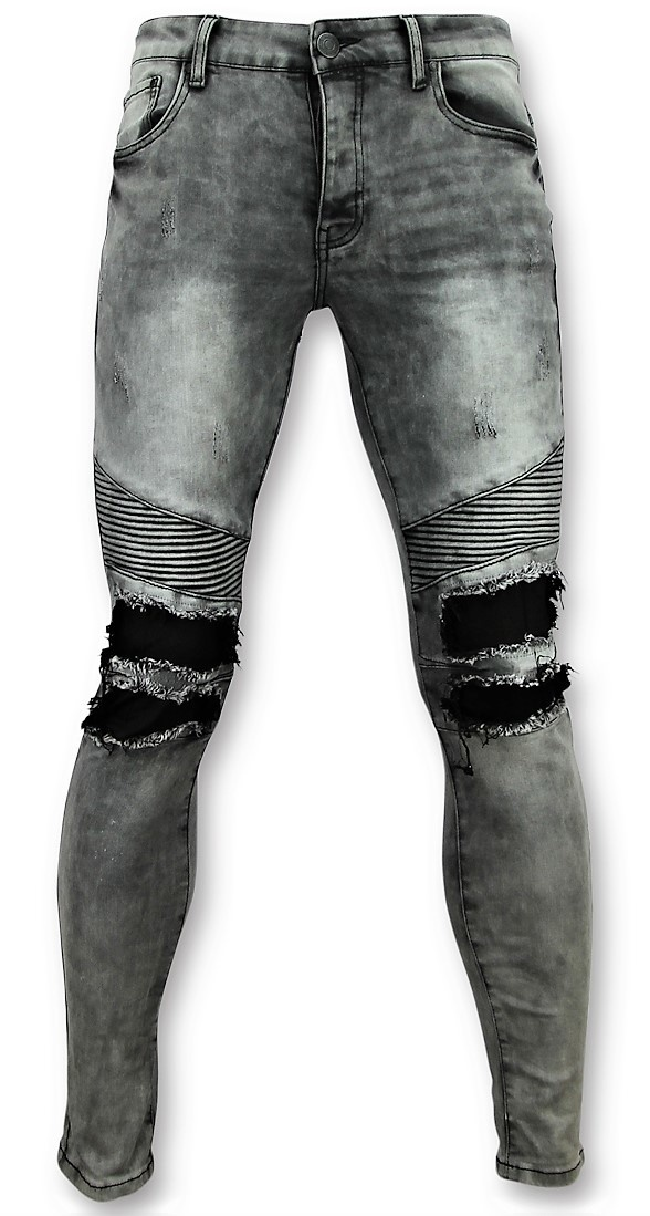 Grey Biker Skinny Jeans Men Men Pants Styleitaly Eu
