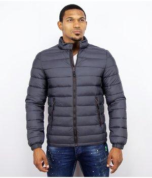 Enos Men's Light Padded Jacket - Blue