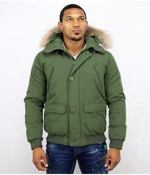 Warren Webber Short Winter Jacket Canada Men - Green