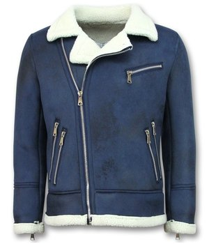 Frilivin Men Lammy Coats Short - Blue