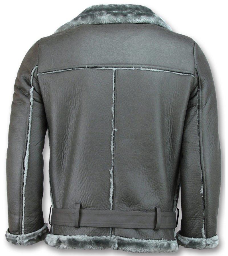 Z-design Lammy Jacket  Ladies - Women Winter Coat - Grey
