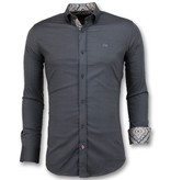Gentile Bellini Special Men's Shirts - Blanco Blouse Business - 3042 - Gray