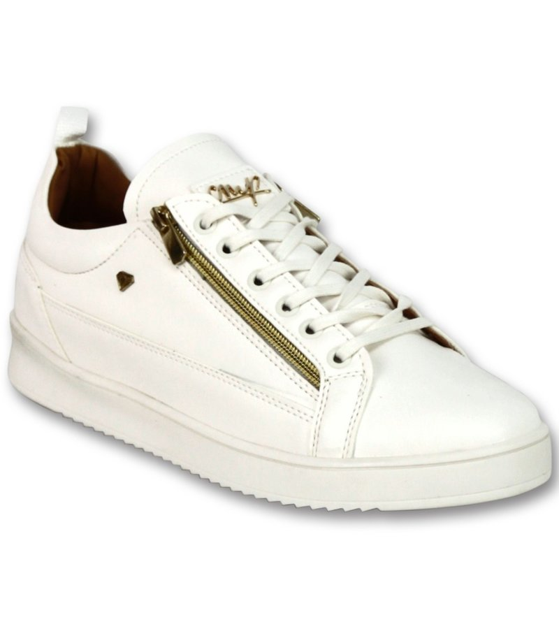 Cash Money Men's Sneaker - CMP White Gold - CMS97 - White