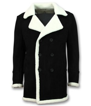 Frilivin Lammy Coat For Men - Black