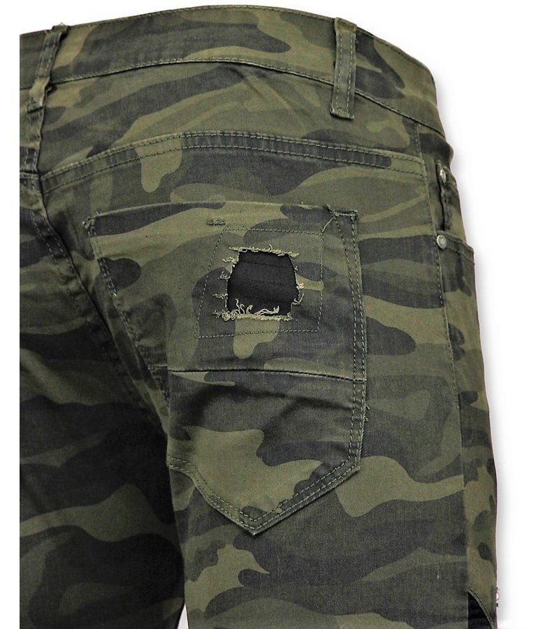 New Stone Army Stretch Jeans - Mannen Spijkerbroek - 3020 - Groen