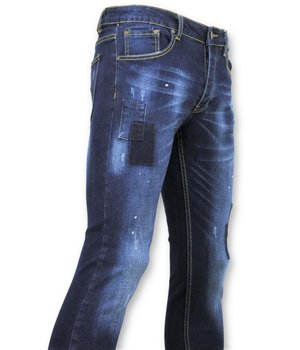 New Stone Tight Men's Jeans - Biker Jeans Men - 5029 - Blue